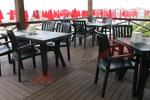 Промоция на Градински пластмасови маси за ресторант