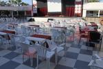 Промоция на Пластмасови бели маси за барове