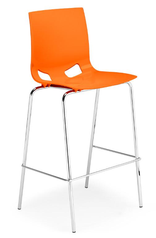 Промоция на Бар стол Fondo hocker chrome
