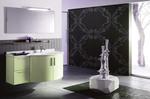 Промоция на  кръгли мебели за баня модернистични