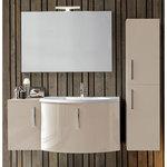 Промоция на  кръгли мебели за баня солидни