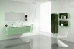 Промоция на солидни  кръгли мебели за баня