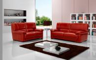 Промоция на Червени кожени дивани по поръчка