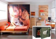 Промоция на Детска стая с вграден сейф FRS 30 EL комплект