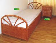 Промоция на Комплект легло и нощно шкафче от ракита