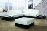 Промоция на Луксозен диван в бяло и черно по поръчка