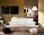 Промоция на луксозна заоблен мека мебел