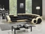 Промоция на луксозен заоблен дизайнерски диван по поръчка