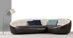 Промоция на луксозен заоблен диван по поръчка
