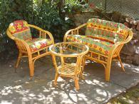 Промоция на фирма Богатство от изпълнения на ратанова мека мебел по поръчка Пловдив